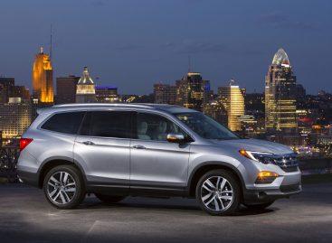 Honda Pilot получила высший рейтинг безопасности