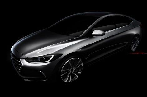 Первые изображения новой Elantra опубликовала Hyundai