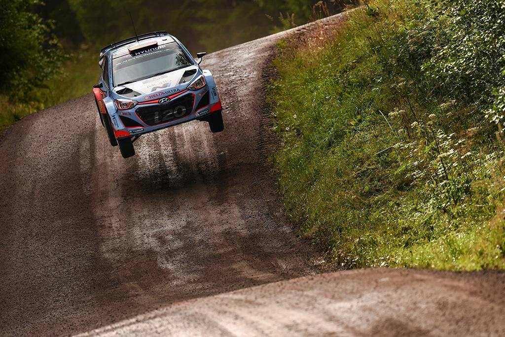 Hyundai Motorsport на Ралли Финляндии