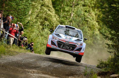 В Ралли Финляндии Hyundai заняла четвертое место