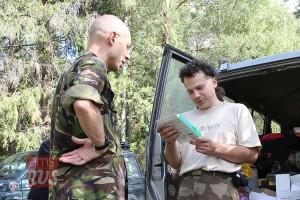 Автор и командор проекта Знать – Евгений Константинов (справа)