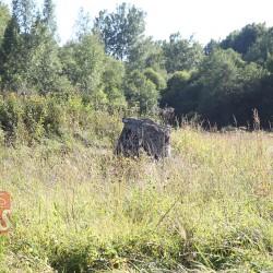 Остатки немецкого бункера возле летного поля