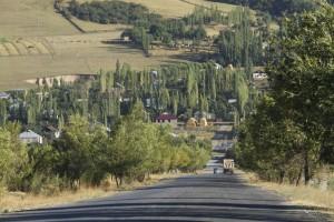 Ошская область Волок Туркестан 2015