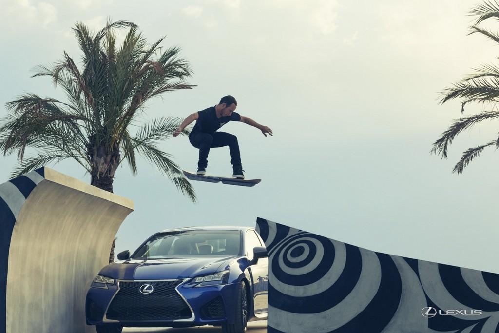 Испытания ховерборда Lexus