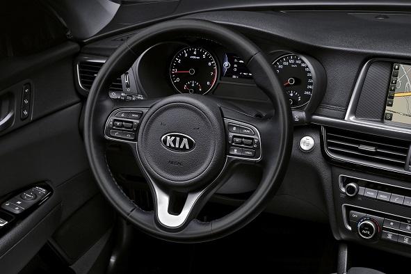 Kia Optima четвертого поколения 2016