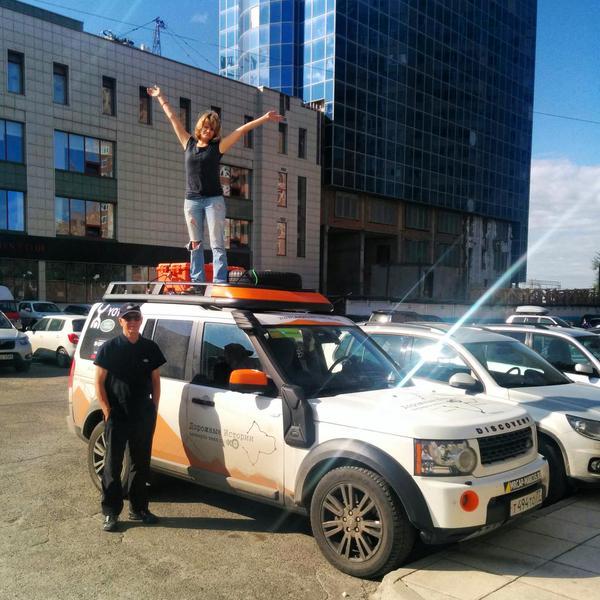 Команда автопробега Эха Москвы отправляется в Барнаул