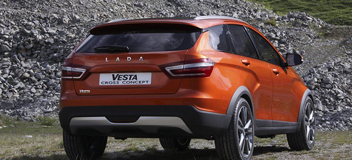 АвтоВАЗ представил концепт Lada Vesta Cross