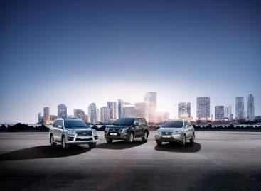 Роскошные недели Lexus
