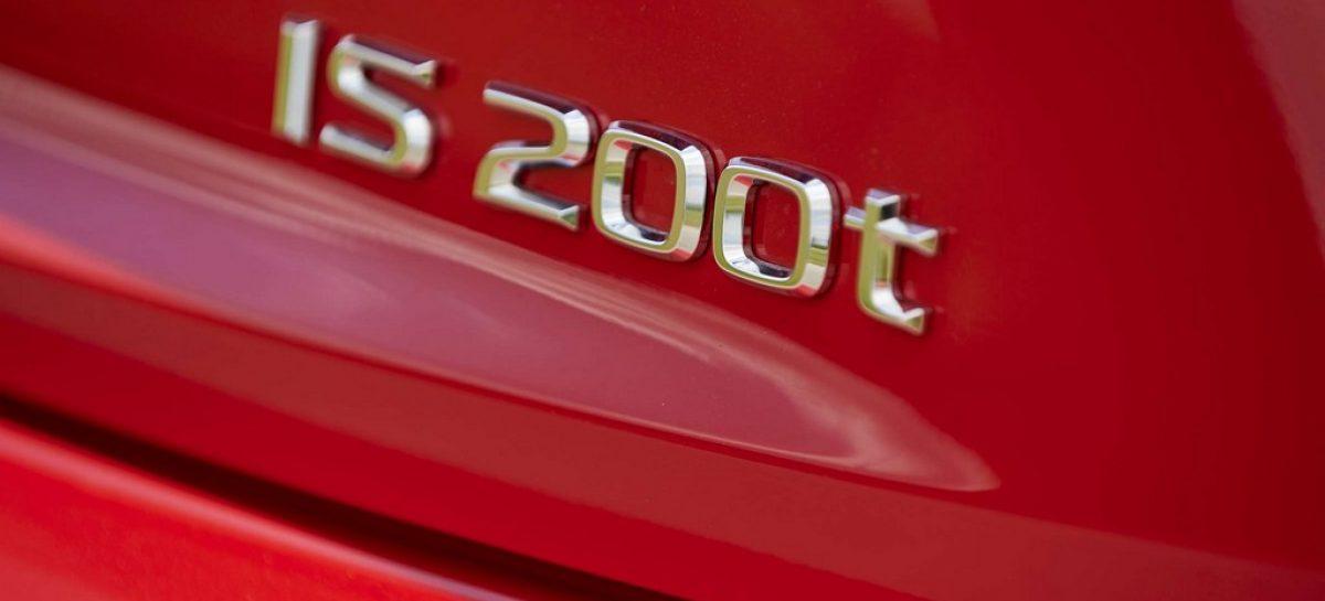 Модельный ряд Lexus IS пополнился новой версией