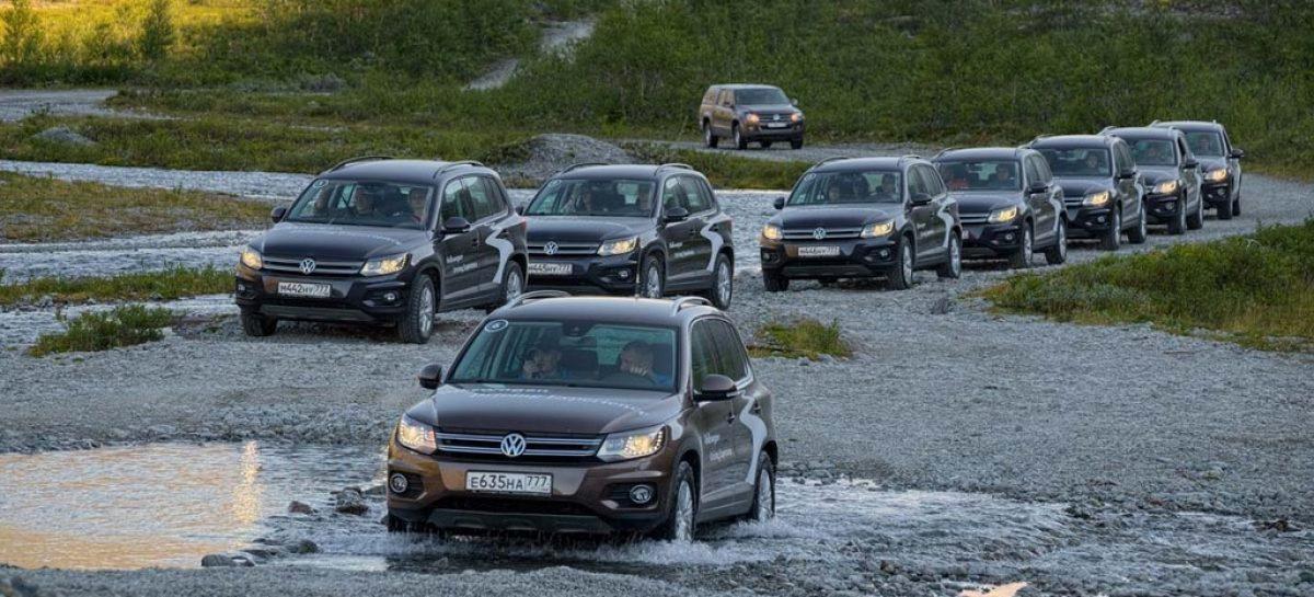 На Volkswagen Tiguan по Кольскому полуострову