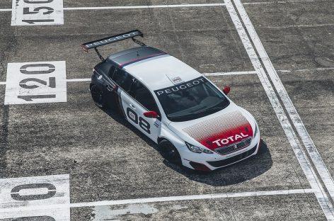 Выпущен новый гоночный Peugeot