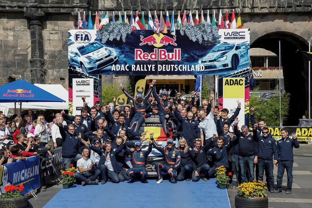 Победа Hyundai Motorsport на Ралли Германии в 2014 году