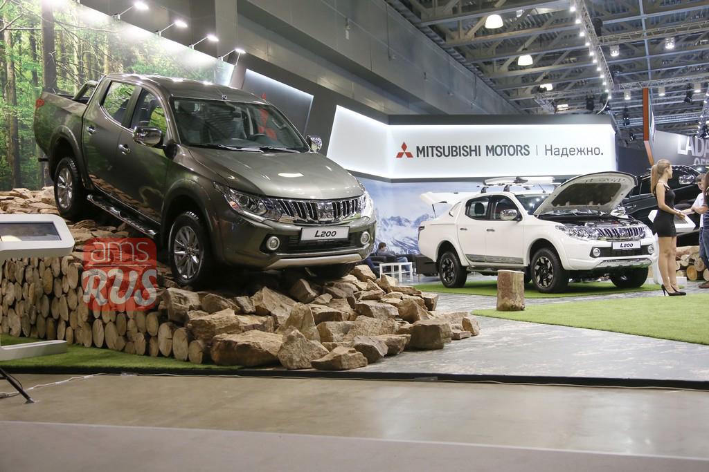 Российская премьера Mitsubishi L200