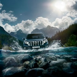 Обновлённый Toyota Land Cruiser Prado «засветился» на фото