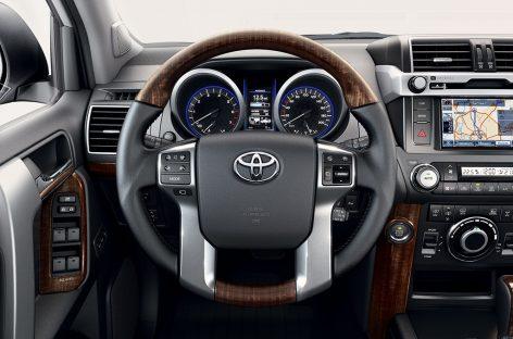 Обновленный Toyota Land Cruiser Prado выходит на рынок