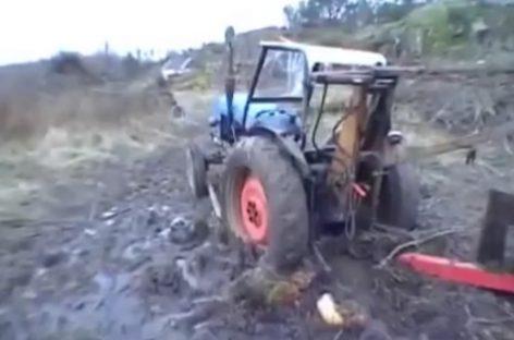 Тюнингованный трактор