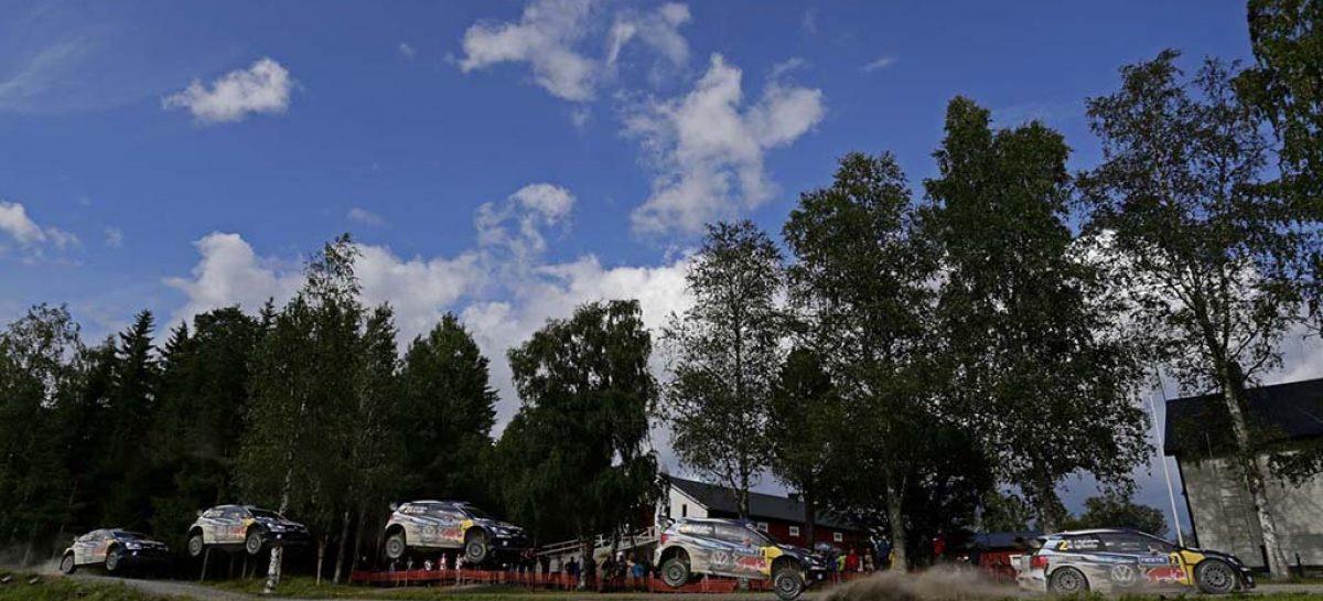 На Ралли Финляндии победил экипаж Volkswagen