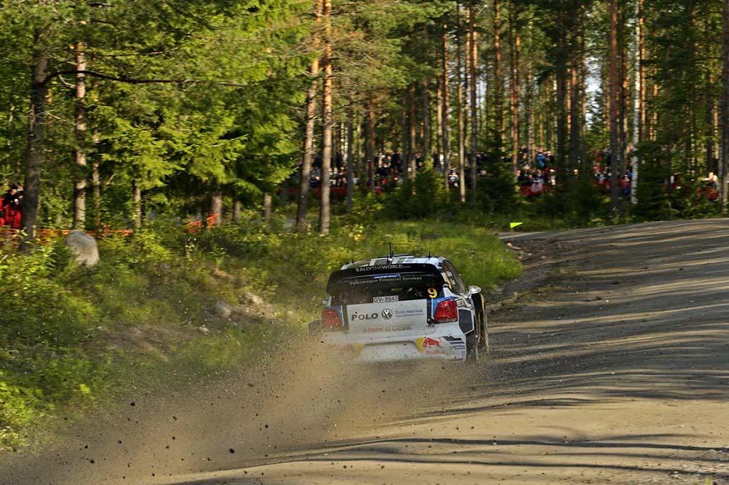 Volkswagen Polo R WRC на Ралли Финляндии 2015