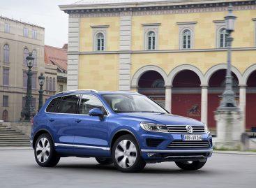 Volkswagen снижает цены на Touareg с дизельными двигателями