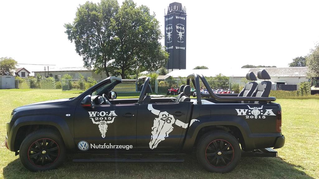 Volkswagen поддерживает фестиваль тяжелой музыки