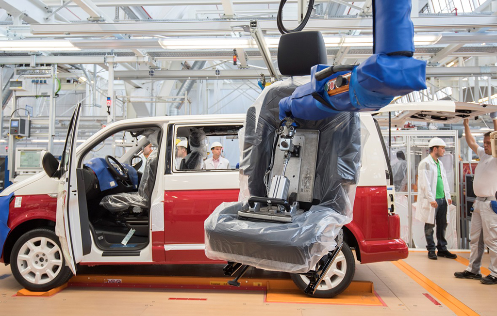 Завод Volswagen в Ганновере