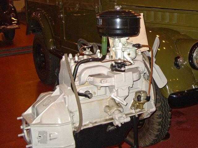 Двигатель ГАЗ-М20