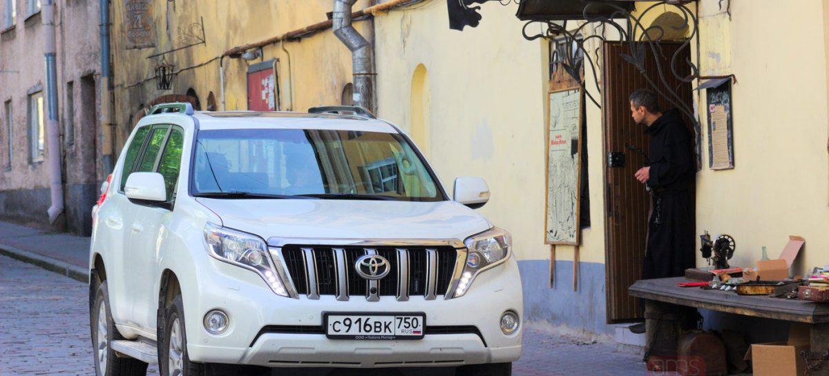 Незапланированный тест Toyota Land Cruiser Prado