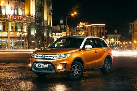 Тест-драйв новой Suzuki Vitara: Персонализируй это