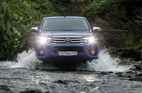Новый пикап Toyota Hilux