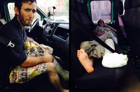 Пострадавших в аварии выставили из больницы