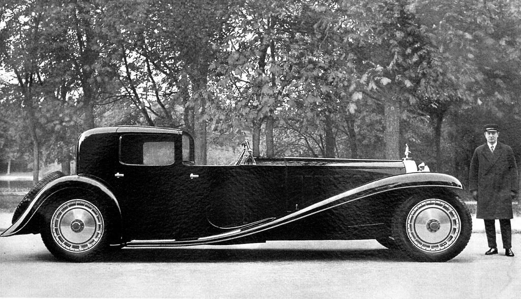 Bugatti Type 41 Royale Coupe Napoleon