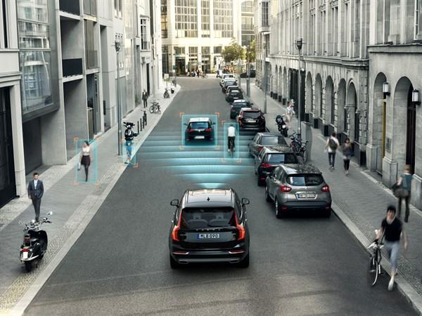 City Safety - новейшая система безопасности Volvo