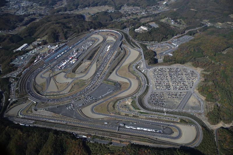 Гоночная трасса в Японии Twin Ring Motegi