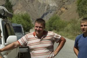 Волок Туркестан 2015 Знакомый экипаж из Костаная шел встречным курсом