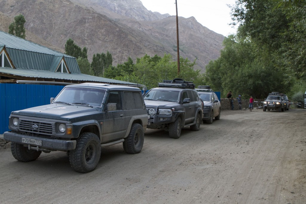 Волок Туркестан 2015 Очередной таджикский пост