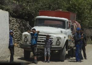 Волок-Туркестан 2015 редкий белый ЗИЛ
