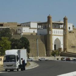 Волок Туркестан 2015 Бухара крепость Арк