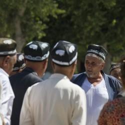 Волок Туркестан 2015 Бухара традиционные тюбетейки