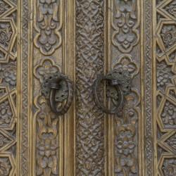Волок Туркестан 2015 Бухара старинные узбекские двери