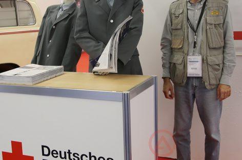 Необычный стенд на Франкфурте-2015