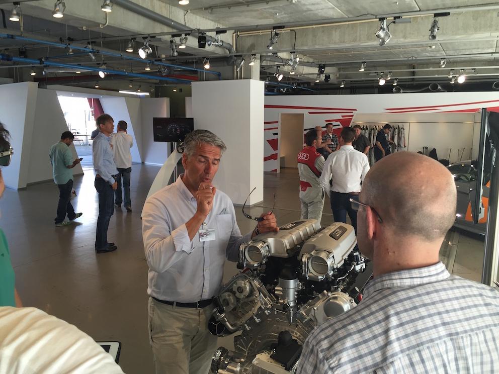 Юрген Кенигштедт о двигателях Audi R8 V10