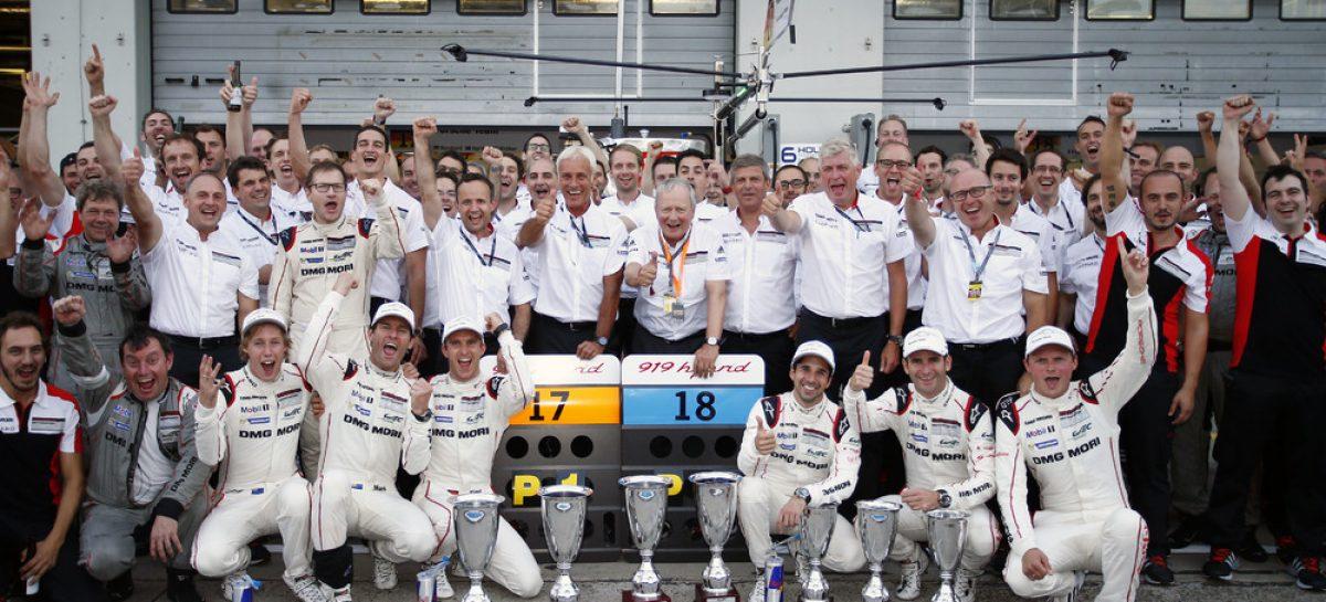 Очередная двойная победа Porsche 919 Hybrid