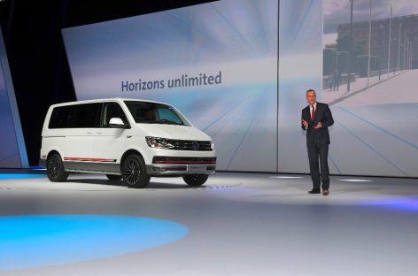 Volkswagen предложил новую версию Multivan