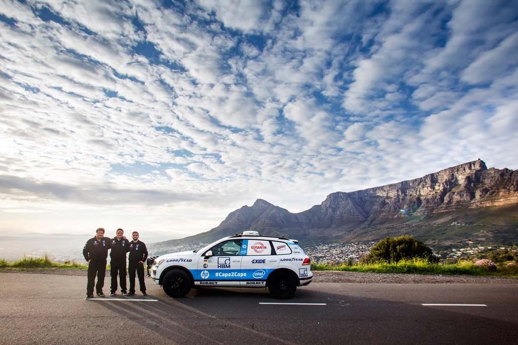 От Южной Африки до Норвегии на Volkswagen Touareg за 9 дней