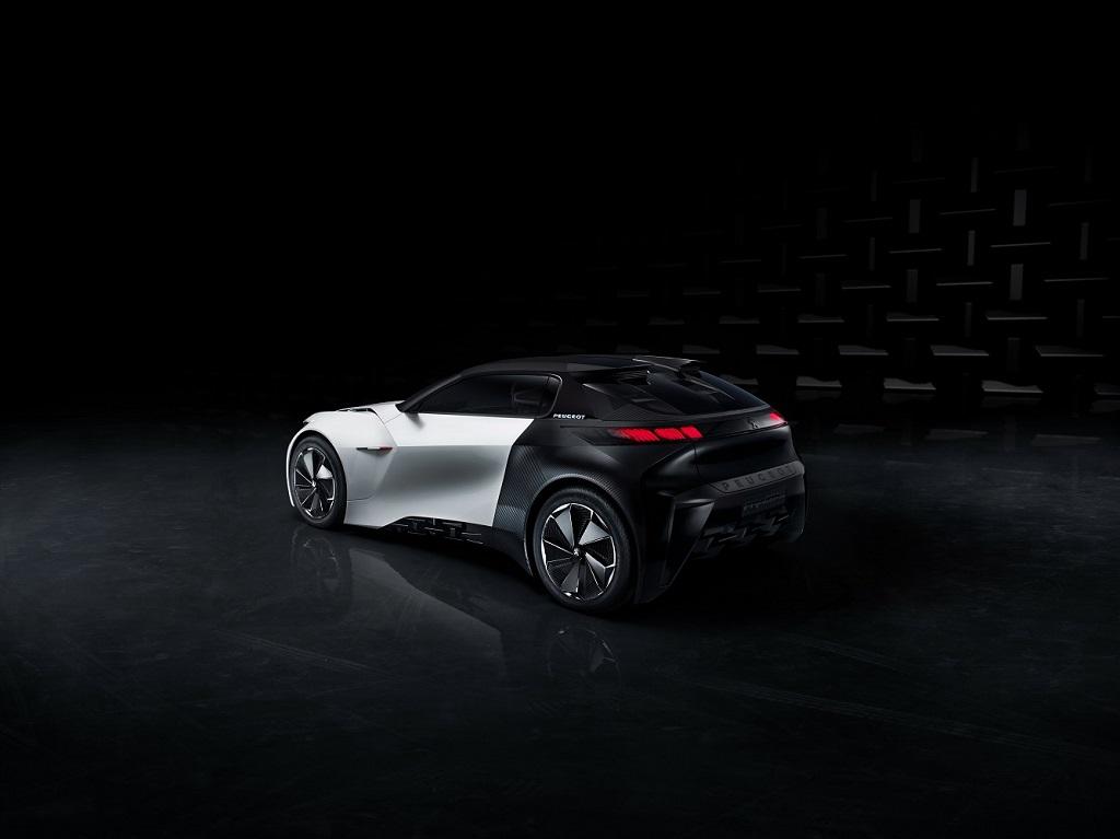 Концепт Peugeot Fractal