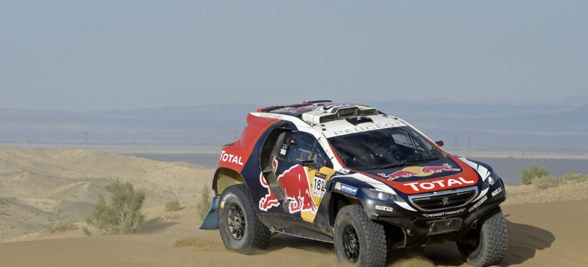 Двойная победа Peugeot 2008 DKR на China Silk Road Rally