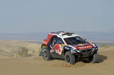 Двойная победа Peugeot 2008 DKR на China Silk Road Rally