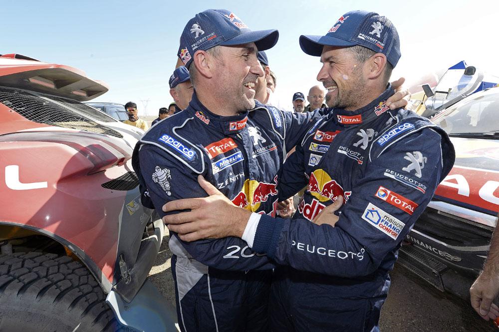Двойная победа Peugeot 2008 DKR на ралли Шелковый путь