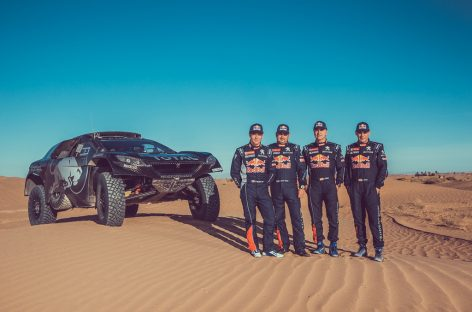 Себастьян Леб пополнит звездный состав Peugeot Total