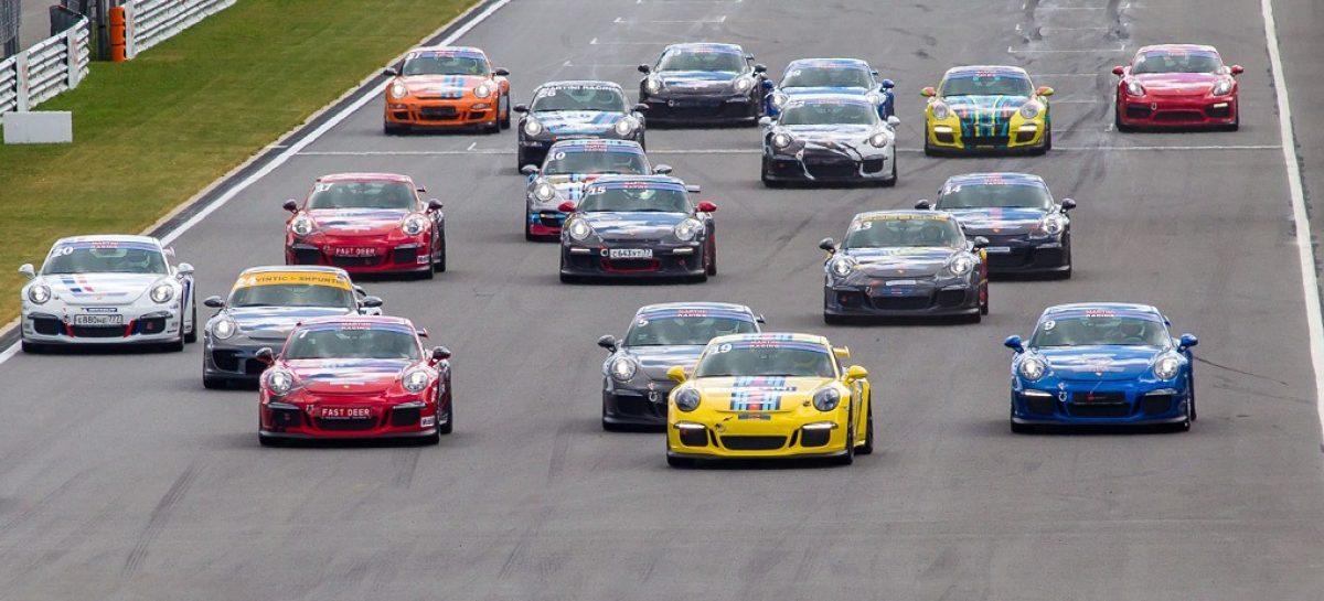 В Москве прошел шестой этап Porsche Sport Challenge
